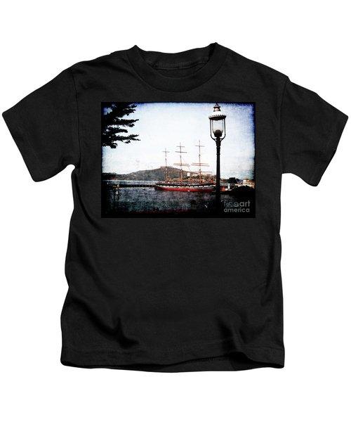 Clipper Ship Kids T-Shirt