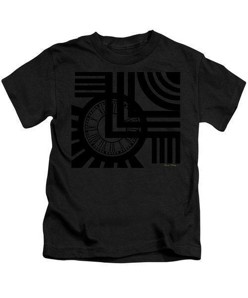 Clock Design Kids T-Shirt