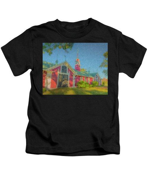 David Ames Clock Farm Kids T-Shirt