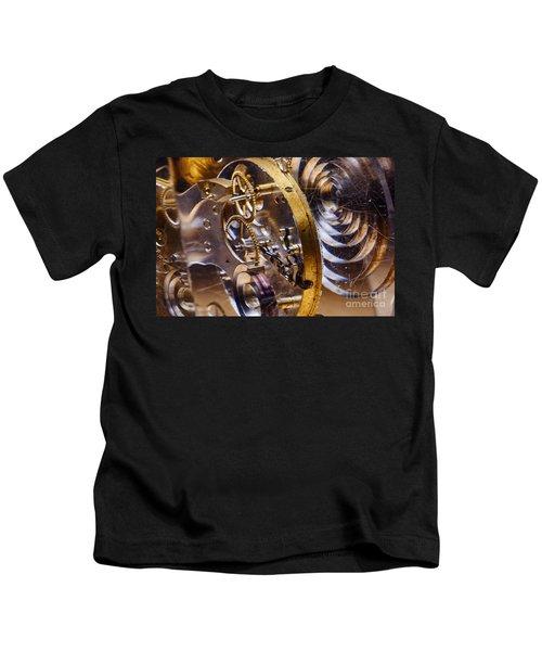 Clock Gears Kids T-Shirt