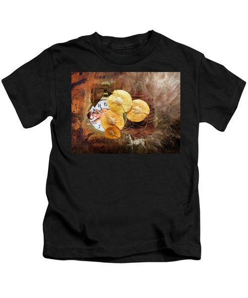 Clock Girl Kids T-Shirt