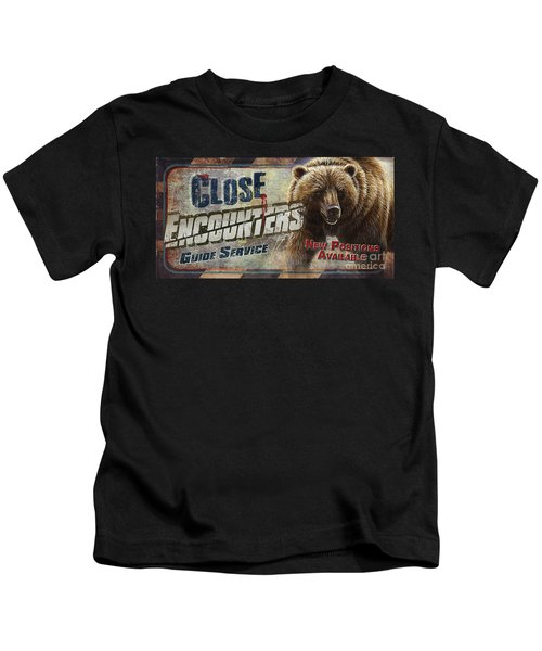 Close Encounters Bear Kids T-Shirt