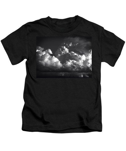 Cloud Power Over The Lake Kids T-Shirt
