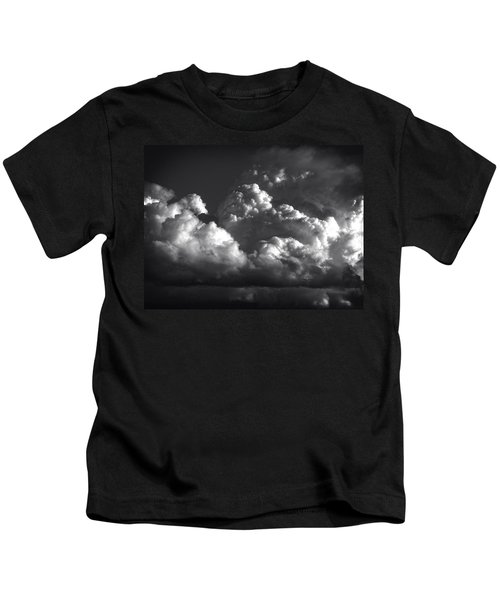 Cloud Power Over The Lake Kids T-Shirt