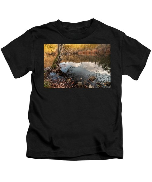 Clouds On The Lake Kids T-Shirt