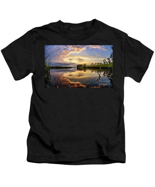 Clouds Reflections Kids T-Shirt