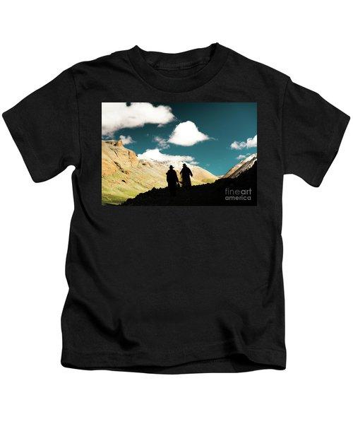 Clouds Way Kailas Kora Himalayas Tibet Yantra.lv Kids T-Shirt
