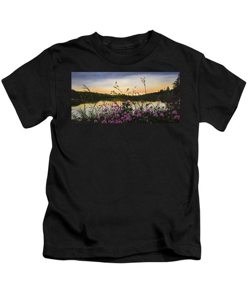 Clover Sunrise  Kids T-Shirt