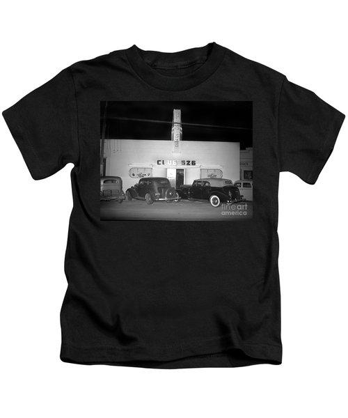 Club 526  Henry Franci, Salinas 1941 Kids T-Shirt