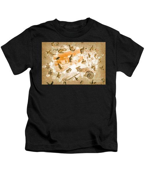 Coastal Romantics Kids T-Shirt