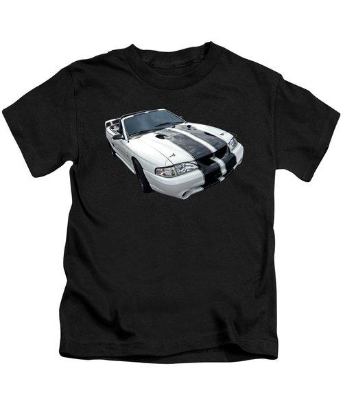 Cobra Mustang Convertible Kids T-Shirt by Gill Billington