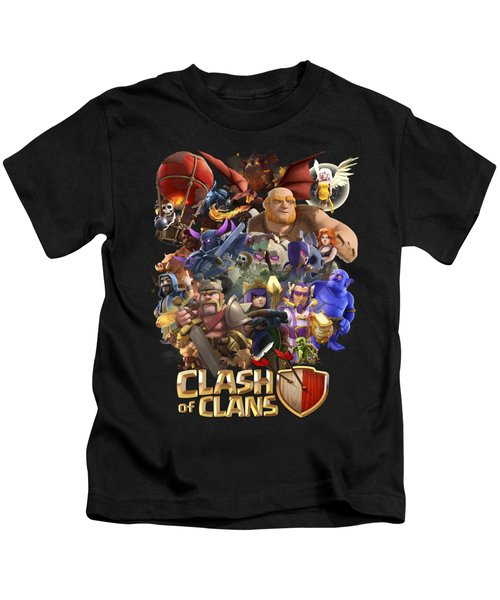 Coc Troops Kids T-Shirt