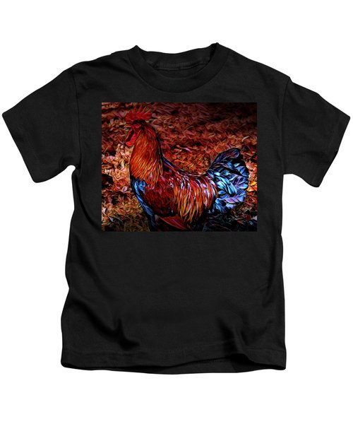 Cock Rooster Kids T-Shirt