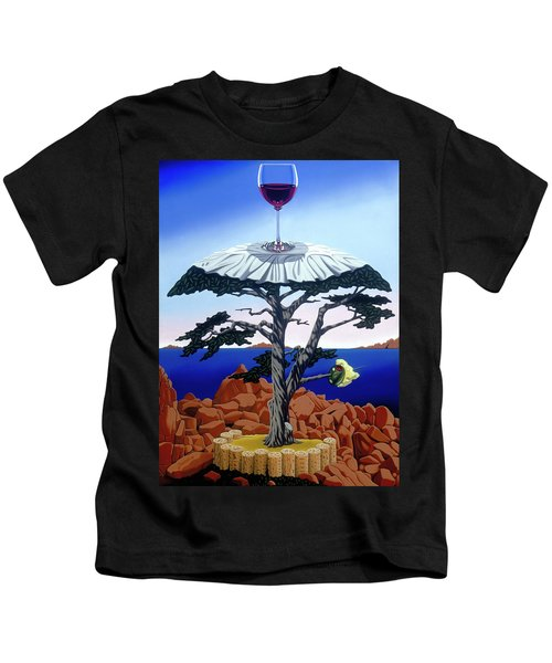 Cocktail Hour Kids T-Shirt