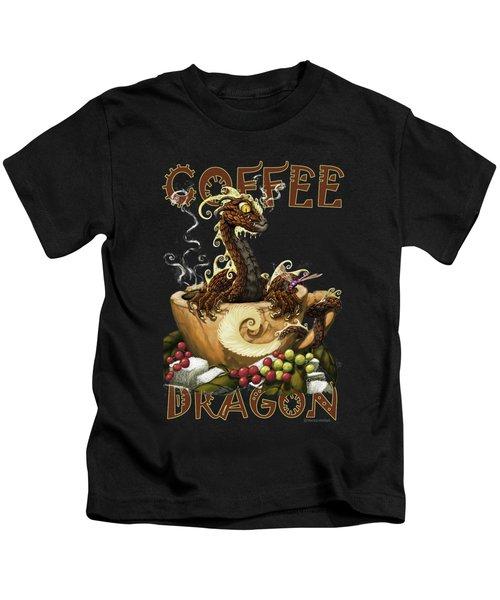 Coffee Dragon Kids T-Shirt