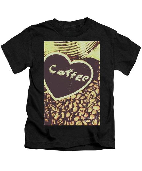 Coffee Heart Kids T-Shirt
