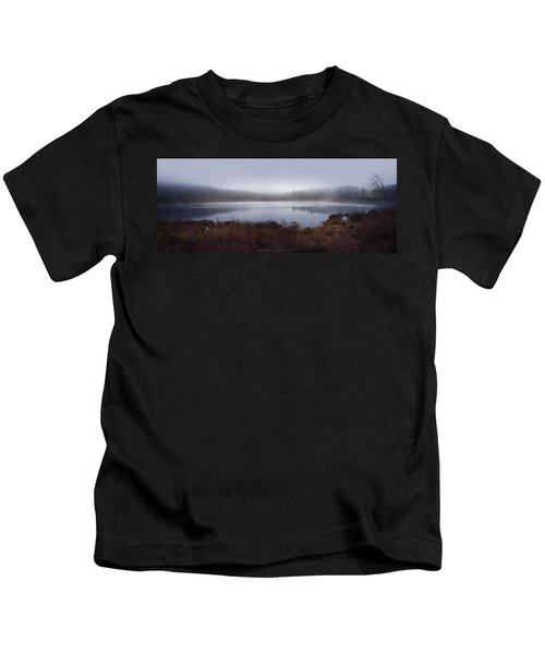 Cold And Misty Morning... Kids T-Shirt