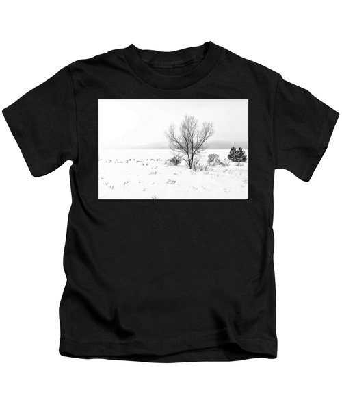 Cold Loneliness Kids T-Shirt