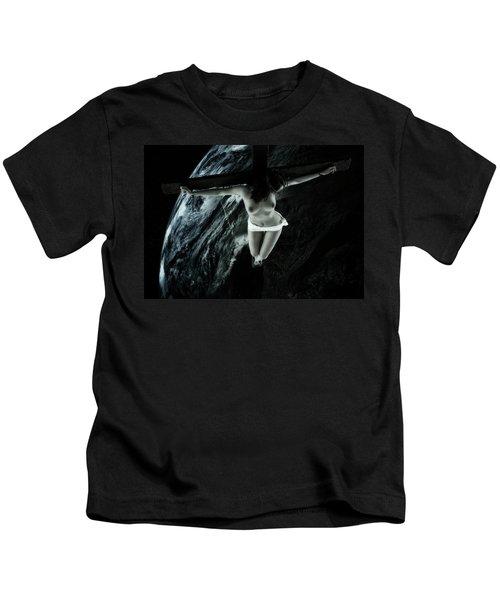 Cold Tellus Crucifix Kids T-Shirt