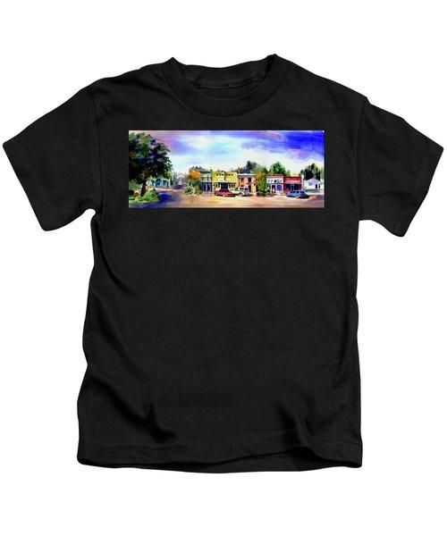 Colfax Main And Church Street Kids T-Shirt