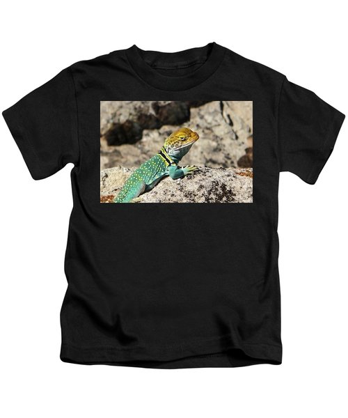 Collared Lizard Kids T-Shirt