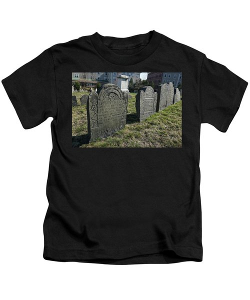 Colonial Graves At Phipps Street Kids T-Shirt
