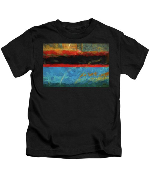 Color Abstraction Xxxix Kids T-Shirt