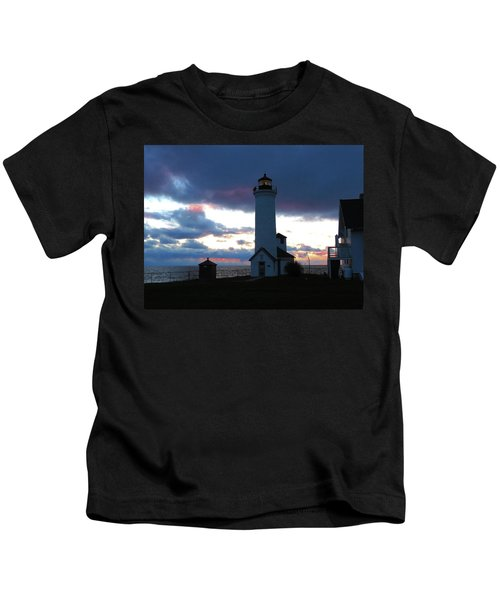 Color Of December, Tibbetts Point Lighthouse Kids T-Shirt