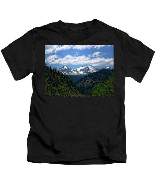 Colorado Rocky Mountains Kids T-Shirt