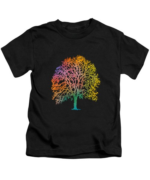 Colorful Abstract Painting Kids T-Shirt