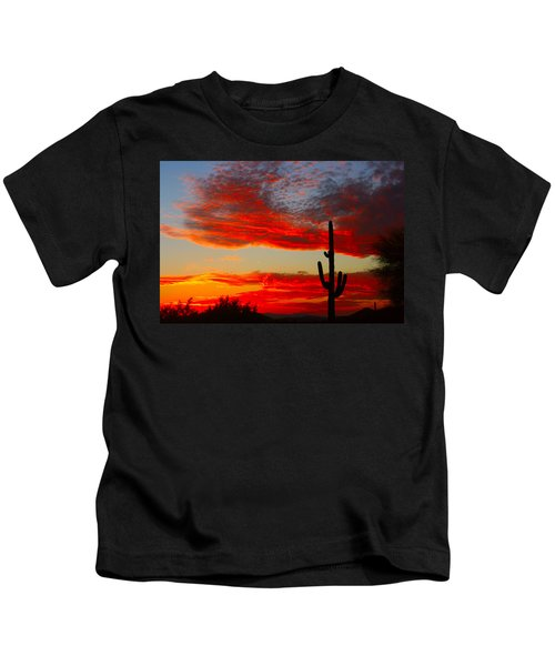 Colorful Arizona Sunset Kids T-Shirt