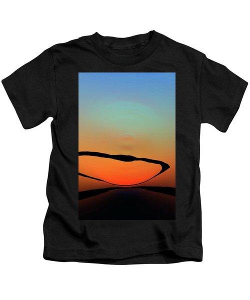 Colorful Modern Art - Eternal Light 2 - Sharon Cummings Kids T-Shirt