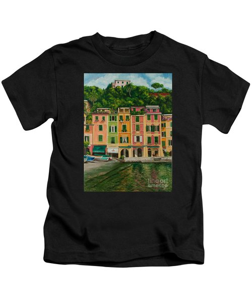 Colorful Portofino Kids T-Shirt