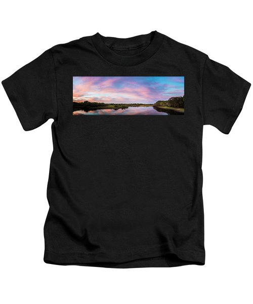 Colorful Sky Kids T-Shirt