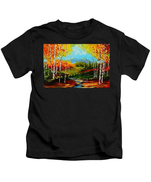 Colorful Spring Kids T-Shirt