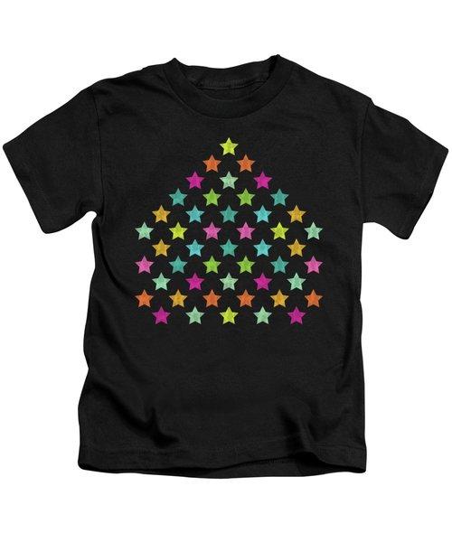 Colorful Star II Kids T-Shirt
