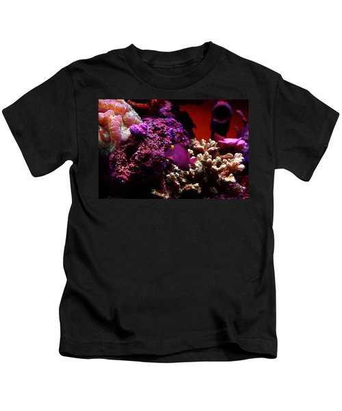 Colors Of Underwater Life Kids T-Shirt
