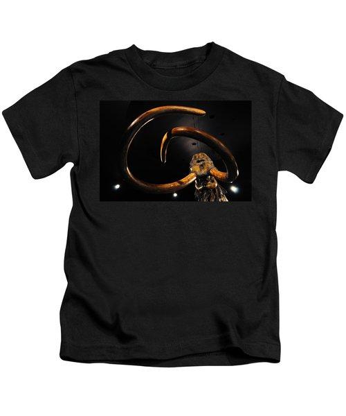 Columbian Mammoth La Brea Tar Pits Kids T-Shirt