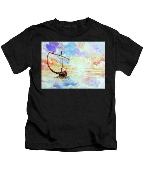 Come Sail Away With Me Kids T-Shirt