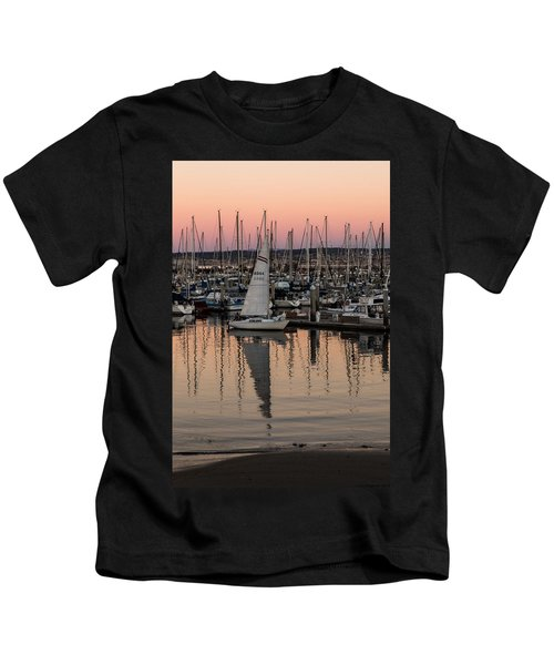 Coming Into The Harbor Kids T-Shirt