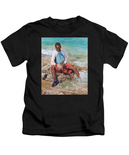 Conch Boy II Kids T-Shirt