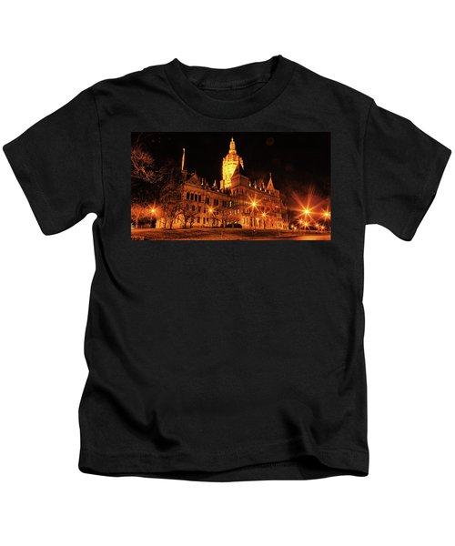 Connecticut State Capitol Kids T-Shirt