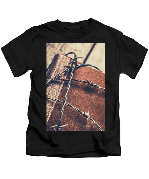 Control And Confidentiality Kids T-Shirt