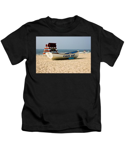 Cool Cape May Beach Kids T-Shirt