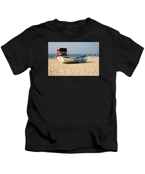 Cool Cape May Beach Kids T-Shirt