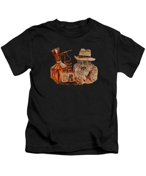 Coppershine Popcorn-transparent For T-shirts Kids T-Shirt
