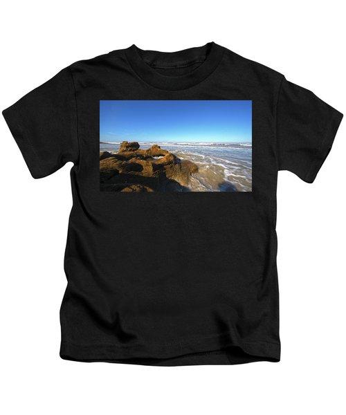 Coquina Beach Kids T-Shirt
