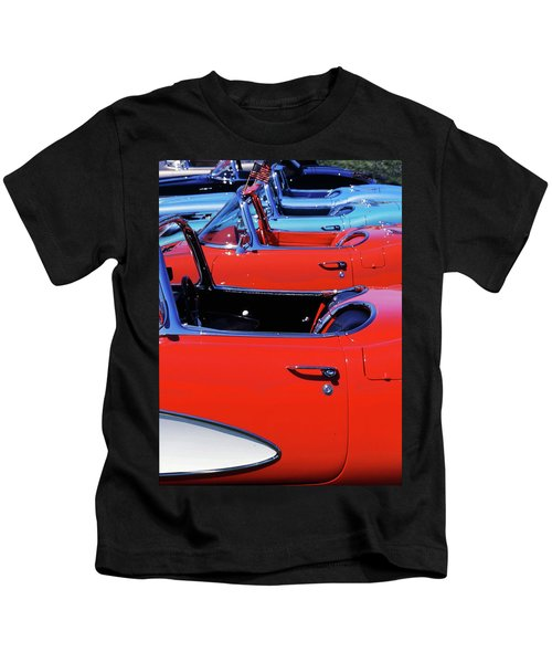 Corvette Row Kids T-Shirt