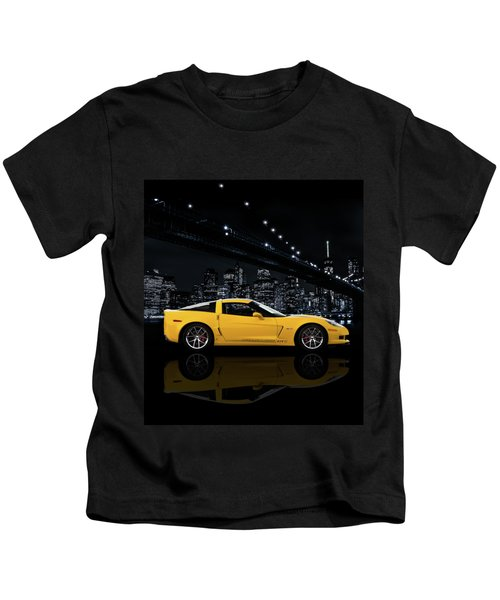Corvette Z06 Gt1 Kids T-Shirt