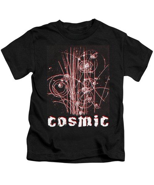 Cosmic Bubbles Kids T-Shirt